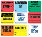 COVID-19 Hospital Labels from Accurate Labels