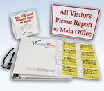 Visitor-Trac, Visitor Passes, Visitor Labels